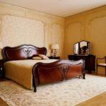 Ковер в интерьере спальни - фото (7)