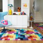 Синтетические ковры в интерьере (5)