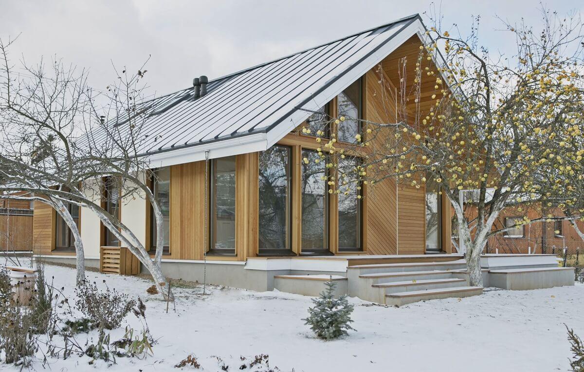 Скандинавский стиль в архитектуре - фото