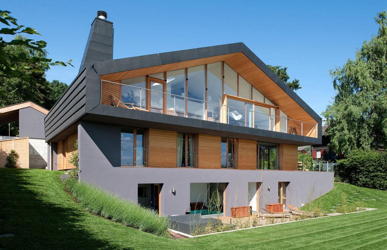Современный дом в скандинавском стиле