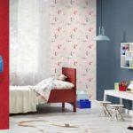 Бумажные обои в интерьере детской комнаты (2)