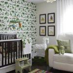 Бумажные обои в интерьере детской комнаты (5)