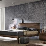 Бумажные обои в интерьере спальни (5)