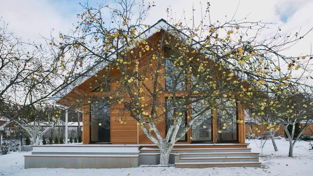 Каркасный дом в скандинавском стиле (3)