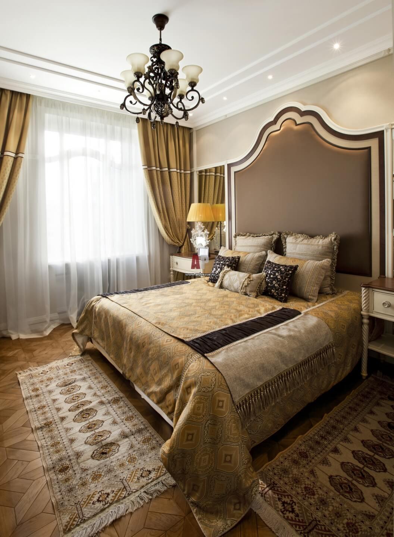 Изголовье кровати в стиле неоклассика (3)
