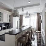 Кухня в стиле неоклассика - фото (10)