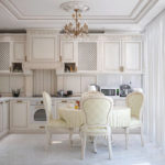 Кухня в стиле неоклассика - фото (13)