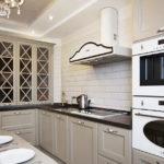 Кухня в стиле неоклассика - фото (14)
