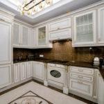 Кухня в стиле неоклассика - фото (23)