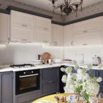 Кухня в стиле неоклассика - фото (24)