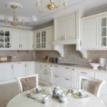 Кухня в стиле неоклассика - фото (25)
