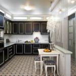 Кухня в стиле неоклассика - фото (5)