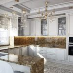 Кухня в стиле неоклассика - фото (8)