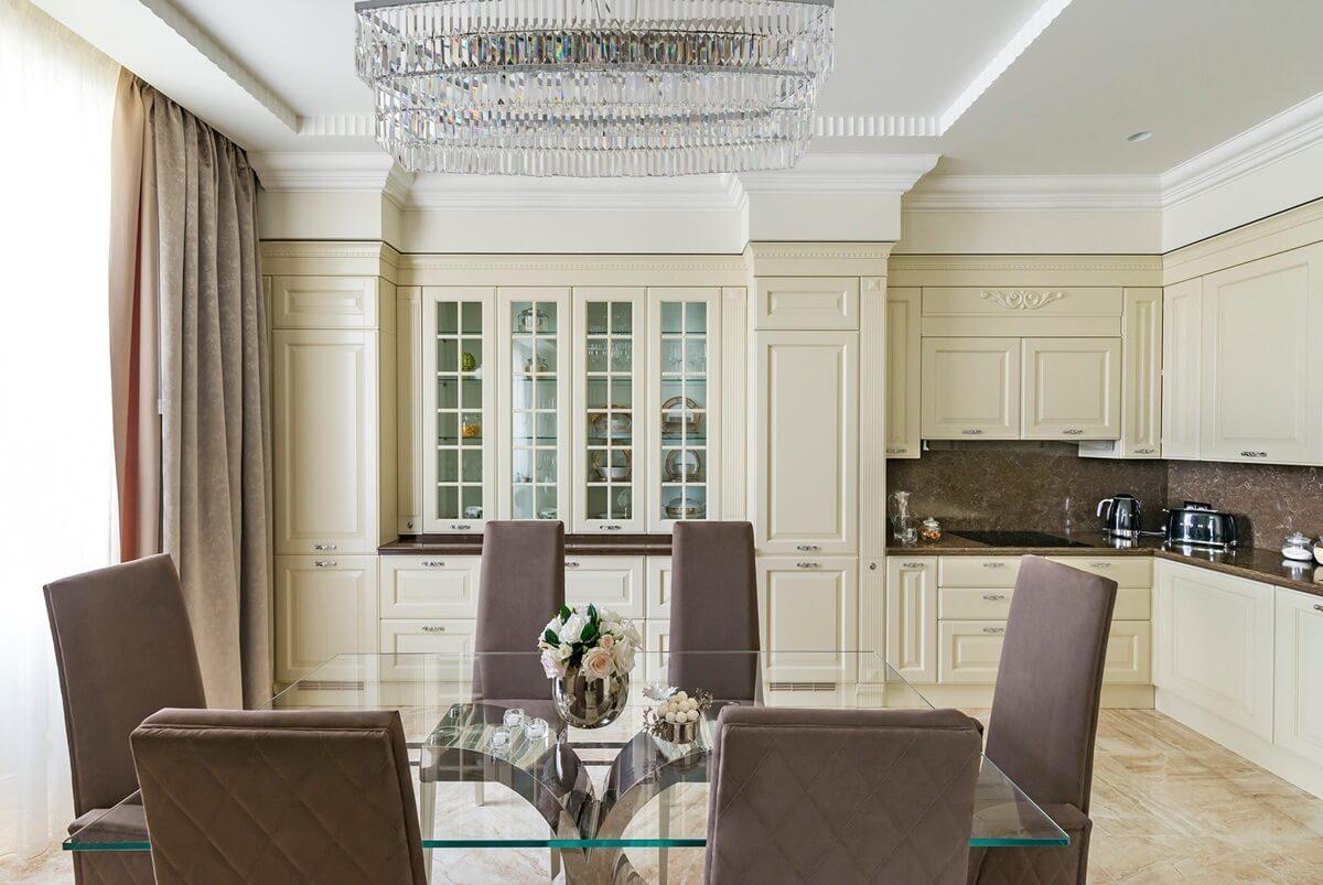 Кухня в стиле неоклассика - фото