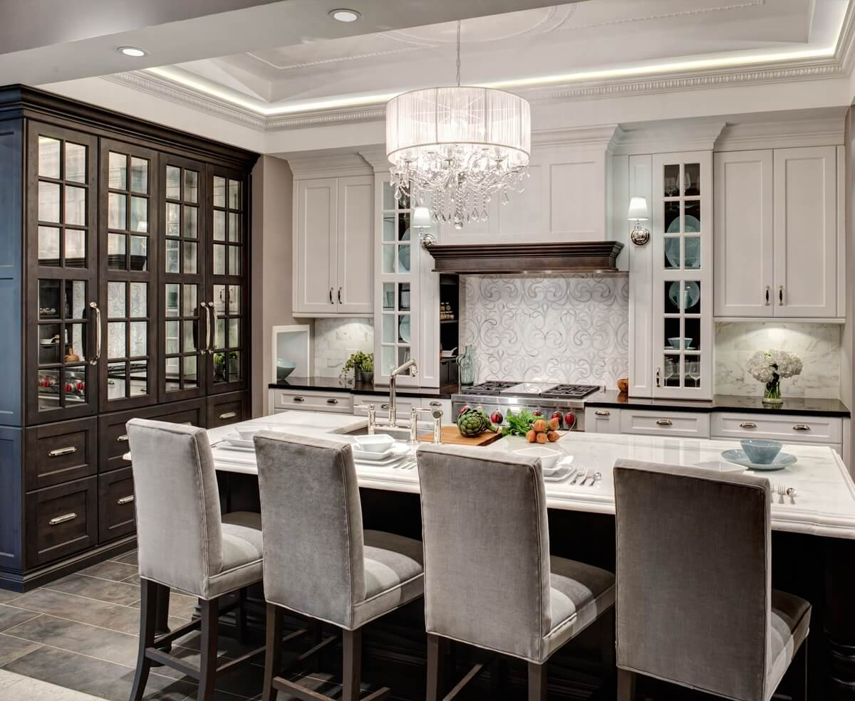 Мебель для кухни в неоклассическом стиле
