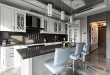 Современная кухня в стиле неоклассика
