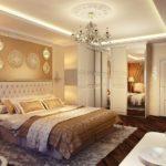 Спальня в стиле неоклассика - фото (12)