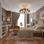 Спальня в стиле неоклассика - фото (13)