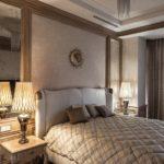 Спальня в стиле неоклассика - фото (15)