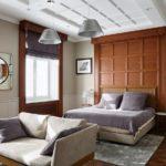 Спальня в стиле неоклассика - фото (18)