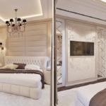 Спальня в стиле неоклассика - фото (20)