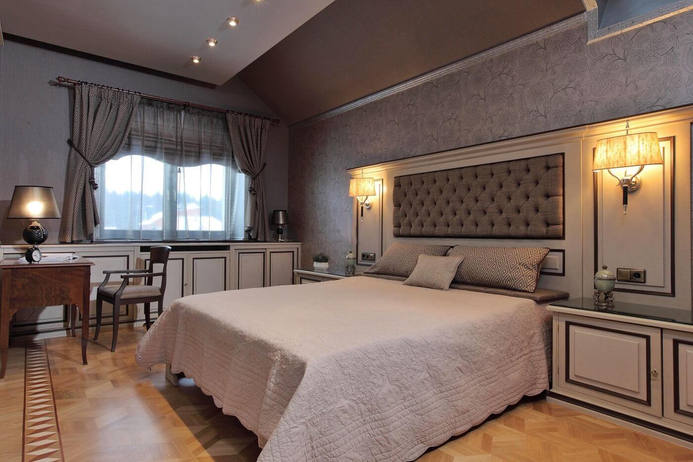 Спальня в стиле неоклассика - фото (3)