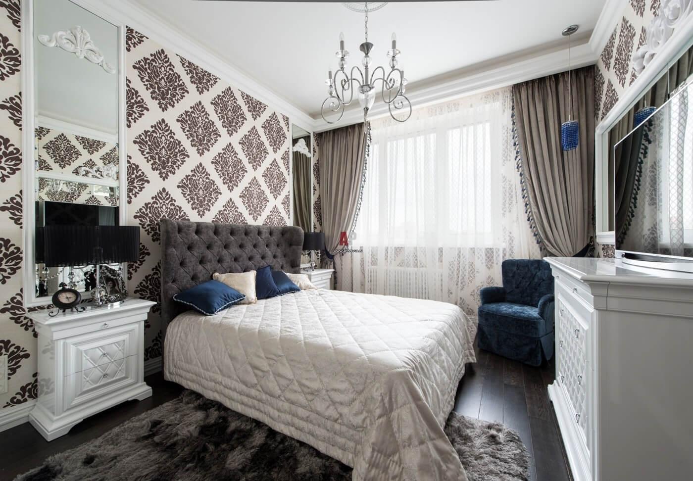 Спальня в стиле неоклассика - фото (4)