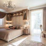 Спальня в стиле неоклассика - фото (6)