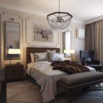 Спальня в стиле неоклассика - фото (7)
