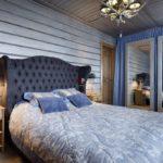 Дизайн спальни в стиле кантри (15)