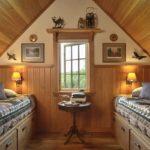Дизайн спальни в стиле кантри (19)