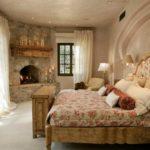 Дизайн спальни в стиле кантри (21)
