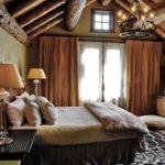 Дизайн спальни в стиле кантри (3)