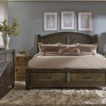 Дизайн спальни в стиле кантри (9)