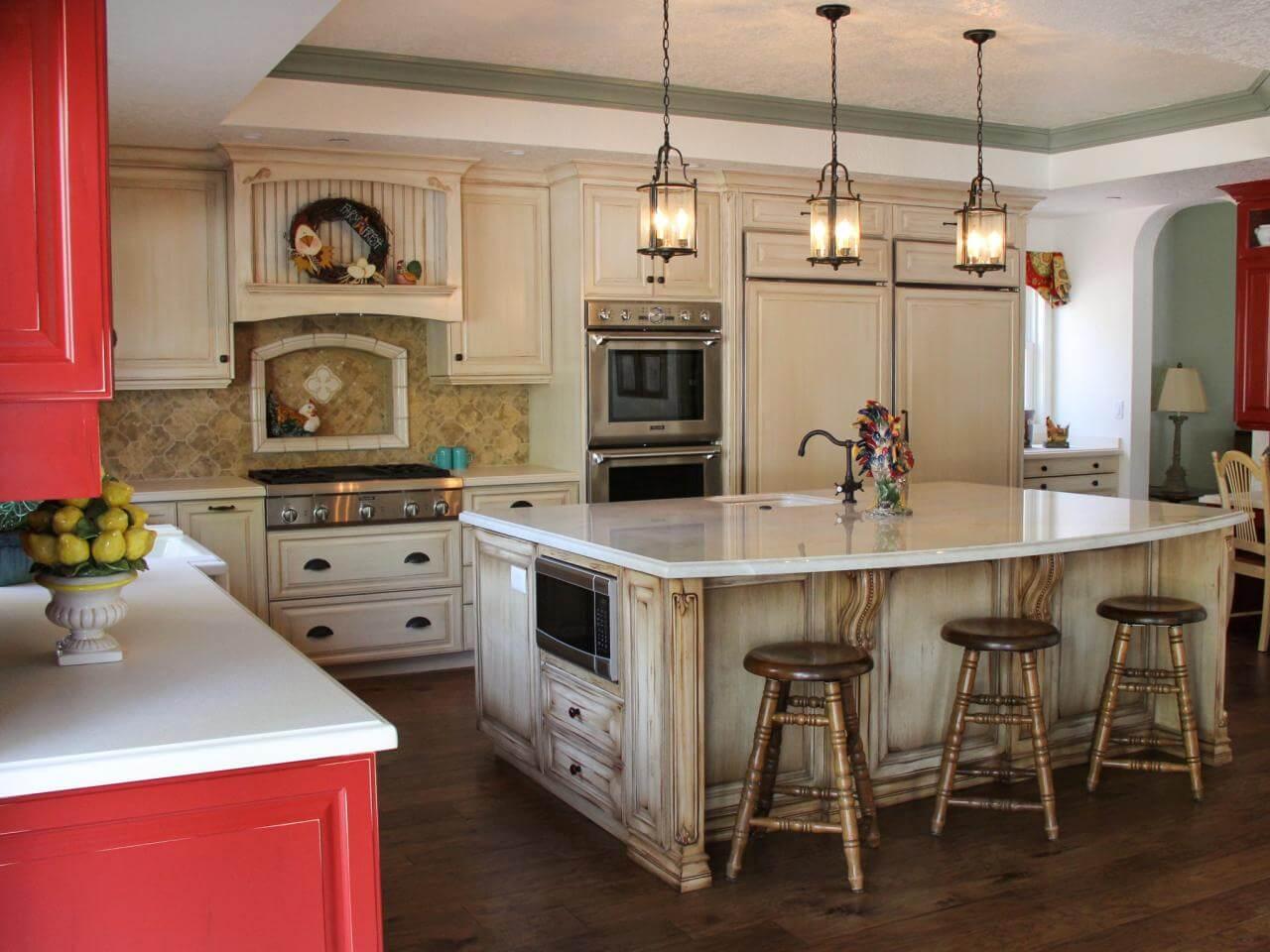 Кухня в стиле кантри - фото 2