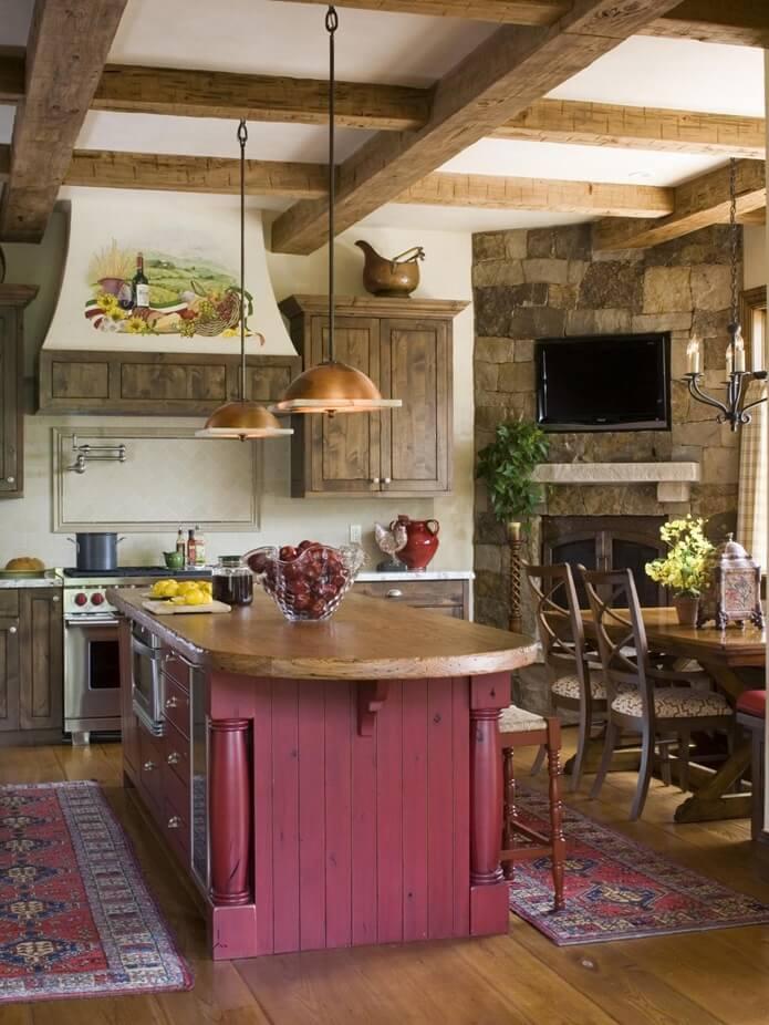 Кухня в стиле кантри - фото 5