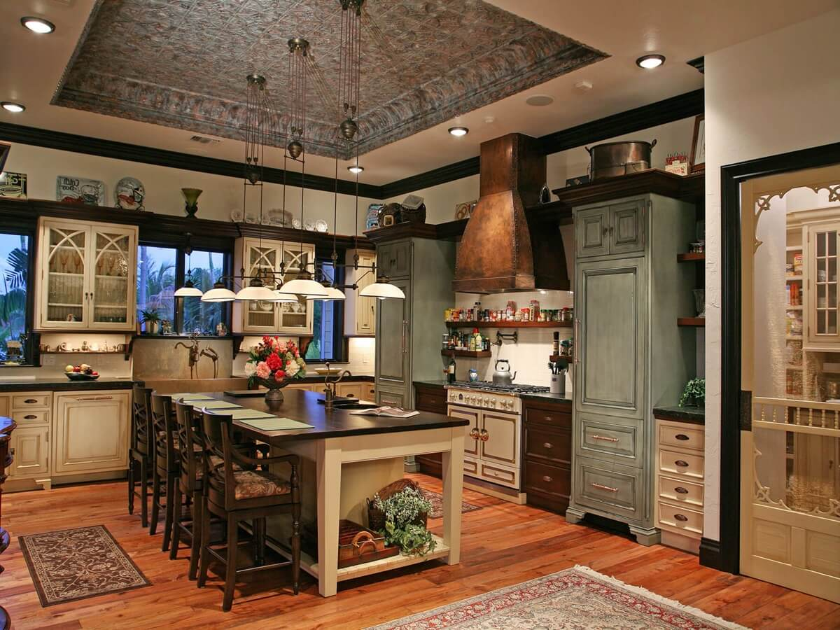 Кухня в стиле кантри - фото 6