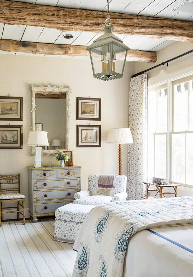 Спальня в стиле кантри - фото 2