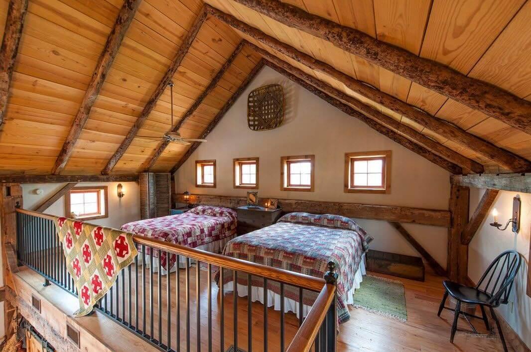 Спальня в стиле кантри - фото 3