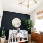 Акцентная стена в интерьере детской комнаты - фото (5)