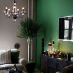 Акцентная стена в интерьере гостиной (7)