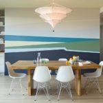 Акцентная стена в интерьере кухни и столовой - фото (2)