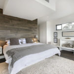 Акцентная стена в интерьере спальни - фото (2)