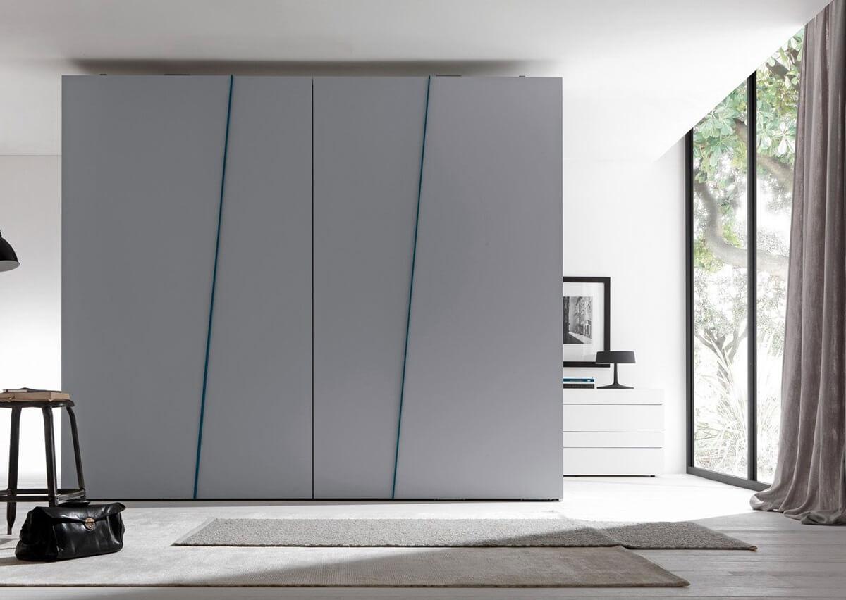 современная спальня в стиле хай тек идеи дизайна 2019 Rehouz