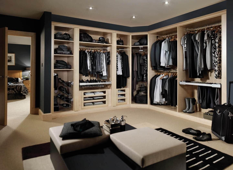 Дизайн гардеробной - фото