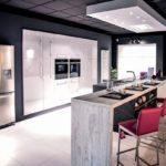 Дизайн кухни в стиле хай-тек - фото (11)