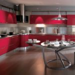 Дизайн кухни в стиле хай-тек - фото (12)