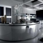 Дизайн кухни в стиле хай-тек - фото (15)
