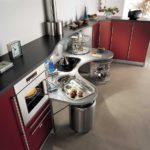 Дизайн кухни в стиле хай-тек - фото (27)
