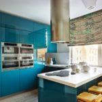 Дизайн кухни в стиле хай-тек - фото (41)